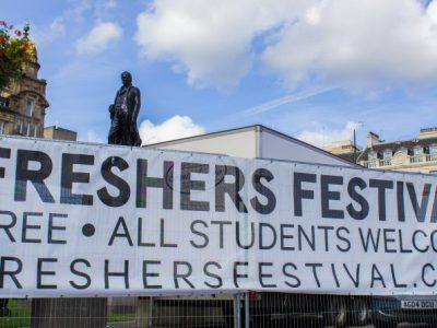 freshers festival george square