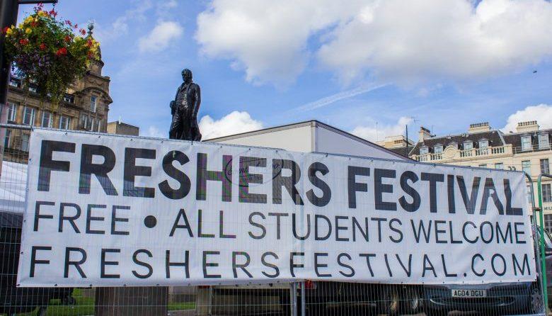 freshers festival george square